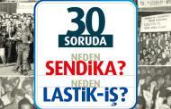30 SORUDA NEDEN SENDİKA? NEDEN LASTİK-İŞ?