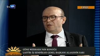 GENEL BAŞKANIMIZ ALAADDİN SARI TV41'E KONUK OLDU