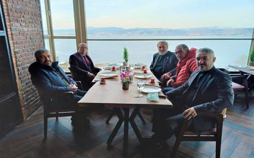 KOCAELİ AMATÖR SPOR KULÜPLERİ FEDERASYONU'NUN GENEL BAŞKANIMIZA ZİYARETİ