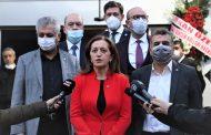 KONFEDERASYONUMUZ DİSK'İN ''TBMM'Yİ GÖREVE ÇAĞRI'' ZİYARETİ