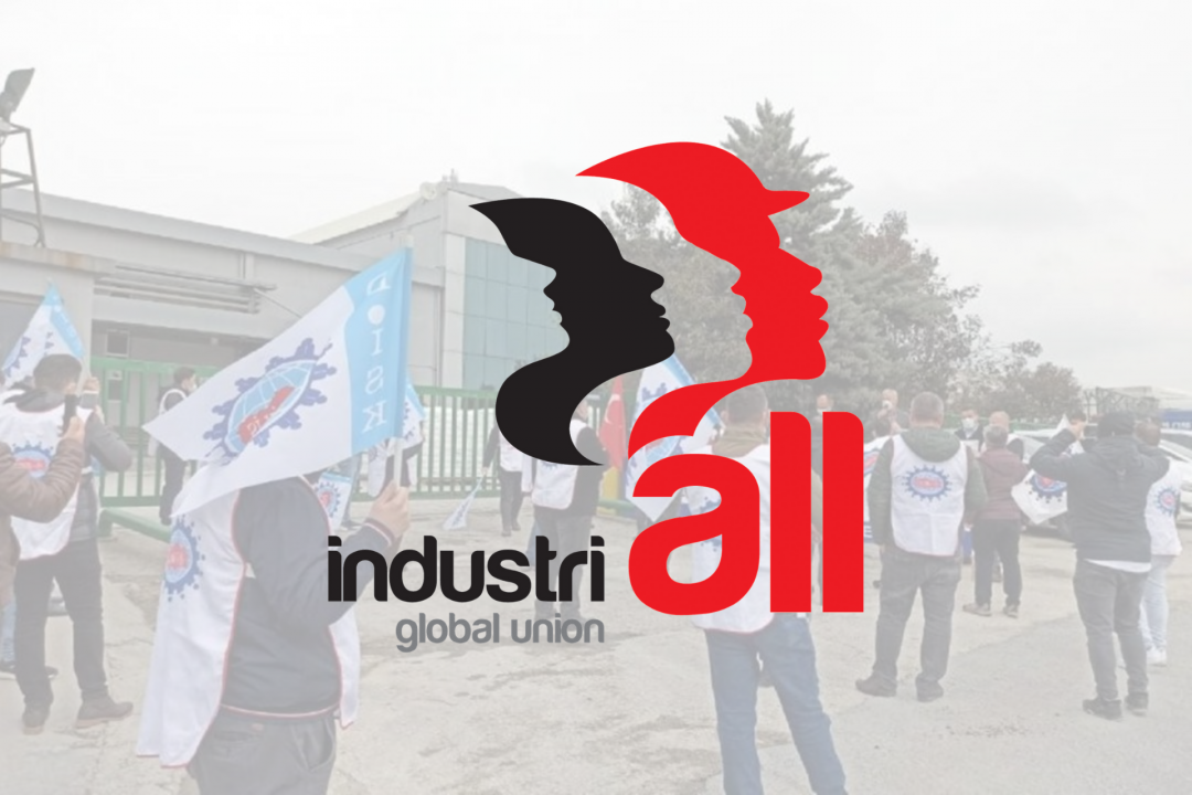 INDUSTRIALL GLOBAL UNION'S LETTER TO TURAN PLASTİK