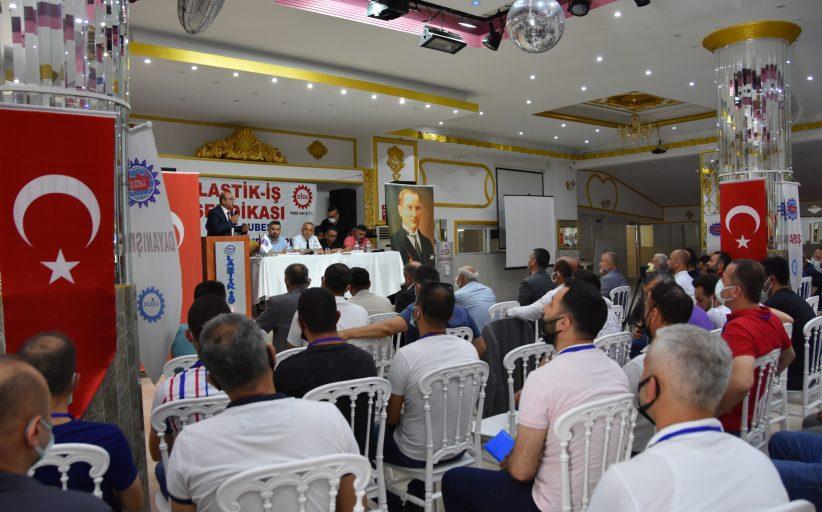 SENDİKAMIZIN GEBZE ŞUBESİ 11. OLAĞAN GENEL KURULU TOPLANDI